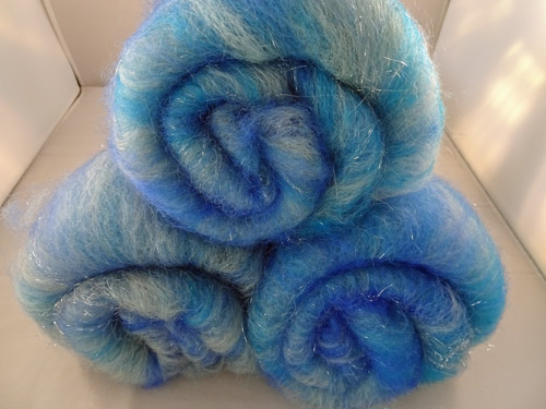 Blue Sparkle Batts