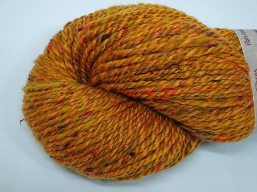 Burnt Orange Handspun Yarn
