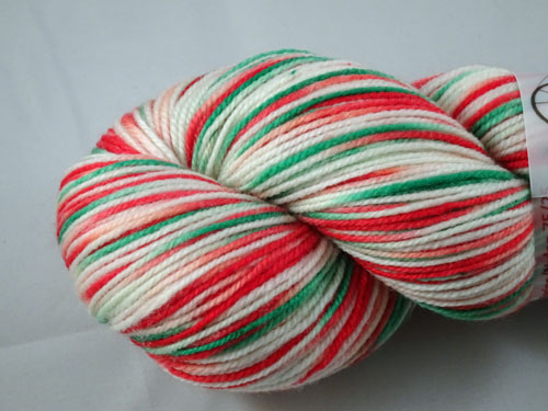Christmas Surprise SW Merino/Nylon Sock Yarn