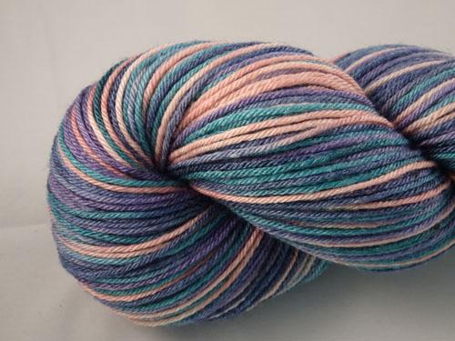 Evening Tide Superwash Merino/Bamboo/Silk Sock Yarn