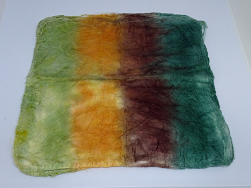 Mulberry Silk Hankies - Forest