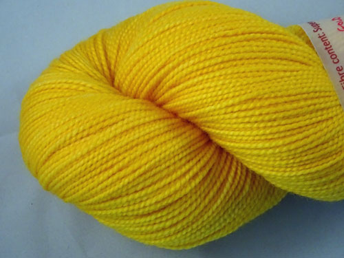 Gold Sock SW Merino Sock Yarn