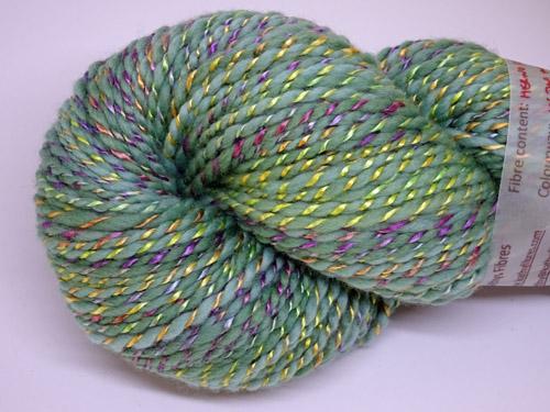 In The Twirl Handspun Merino/Rose Fibre Yarn