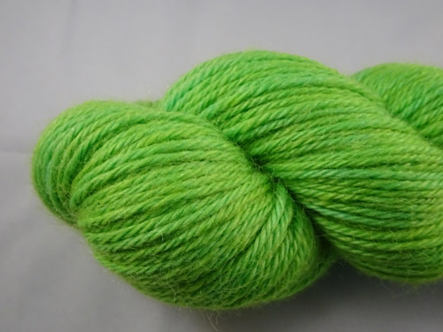 Lush Lime 8ply Alpaca Yarn