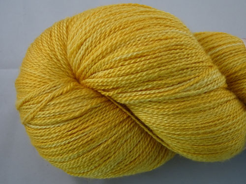Marigold Merino/Silk Laceweight Yarn