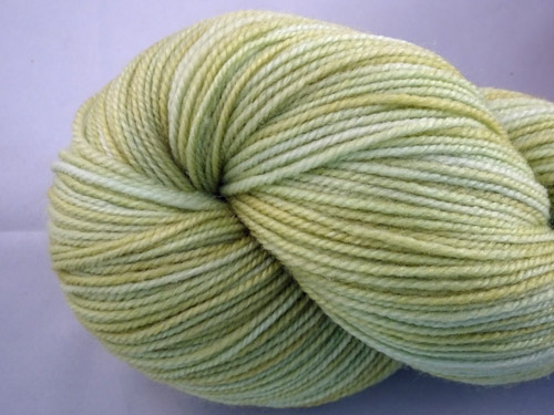 Nicest Pale Green SW Merino/Nylon Sock Yarn