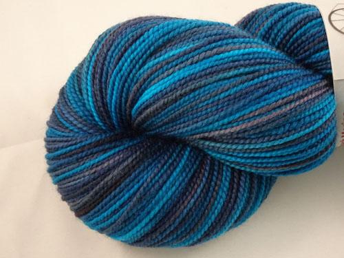 Now That Is Blue SW Merino Sock Yarn