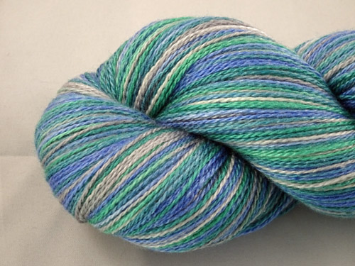 Ocean Merino/Silk Laceweight Yarn