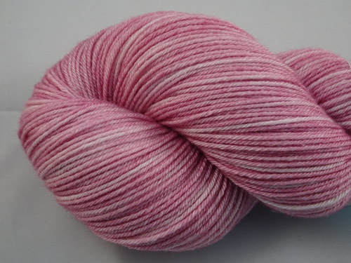 Pale Pink Superwash Merino/Bamboo/Silk Sock Yarn