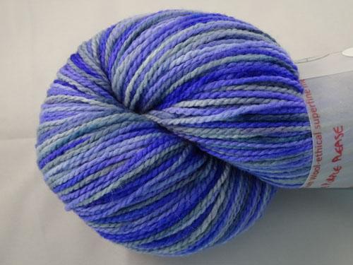 Pass The Purple Please WGW 4ply Merino Yarn