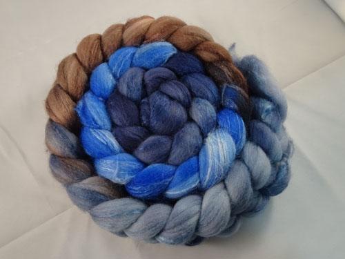 Ramble Gradient Merino/Silk tops