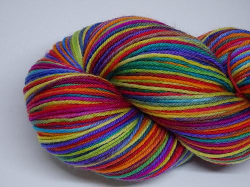 Stained Glass SW Fine Merino/Nylon Sock Yarn