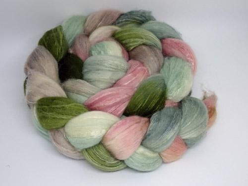 Succulent Merino/Silk tops