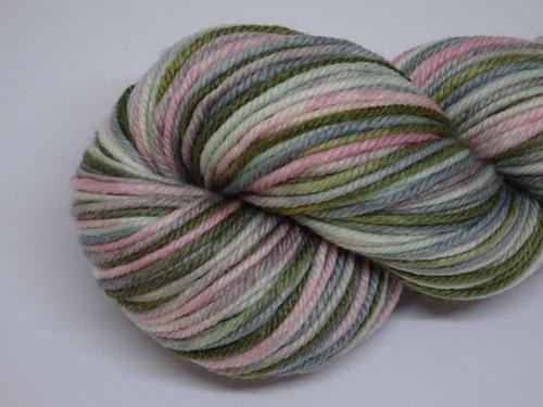 Succulent 8ply Superwash Merino/Nylon Silk Yarn