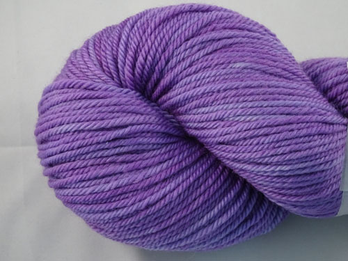 Vivid Violet 8ply Sustainable Merino