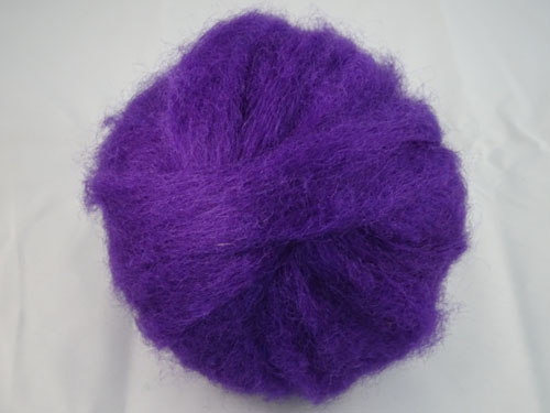 Passionate Purple Romney Ball