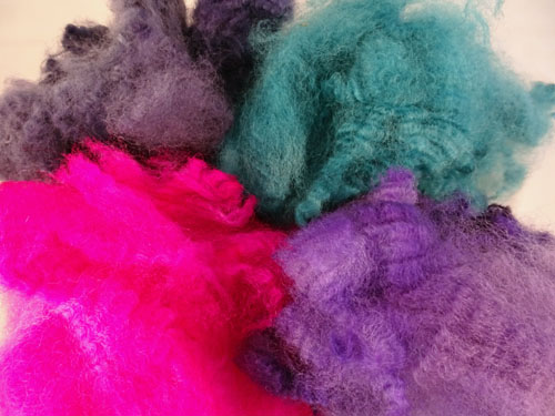 Winter Brights Dyed Fleece