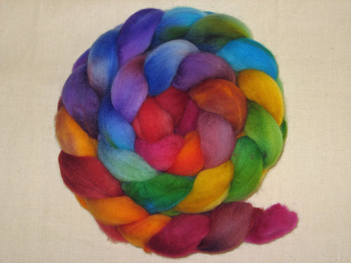 Stained Glass roving