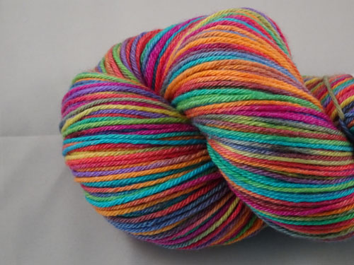 Stained Glass Superwash Merino/Bamboo/Silk Sock Yarn