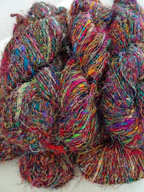 Sari Silk Yarn-
