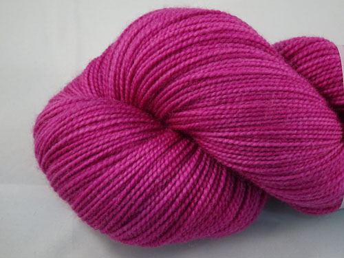 Almost Magenta SW Merino Sock Yarn-