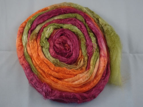 Autumn Tussah Silk-