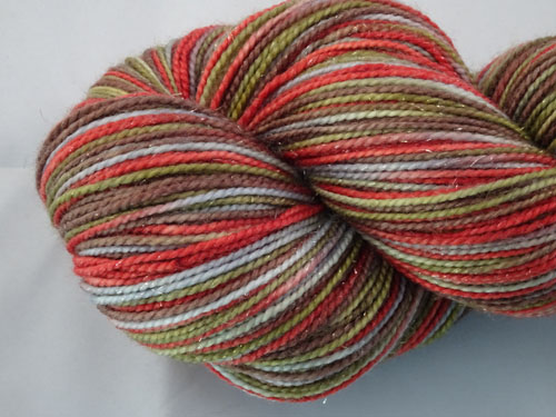 Connor SW Merino/Nylon/Stellina Sock Yarn-