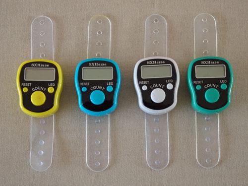 Digital Row Counters-