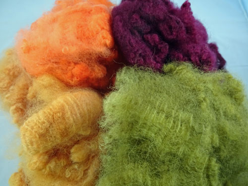 Autumn Shades Dyed Fleece-