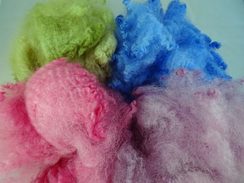 Pastel Shades Dyed Fleece-