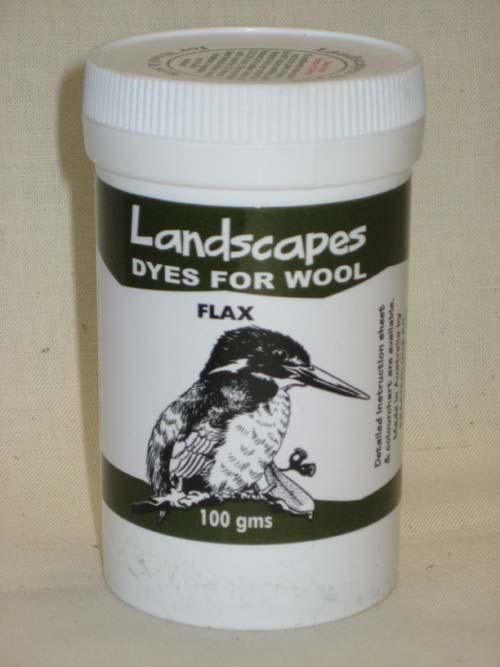 Flax Dye-