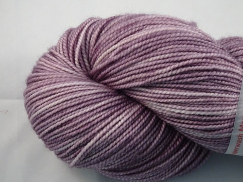 Grey Lavender SW Merino Sock Yarn-