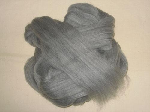 Grey Merino Tops-
