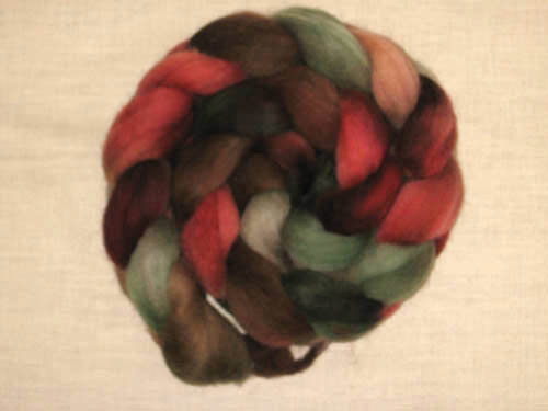 Red Flowering Gum roving-