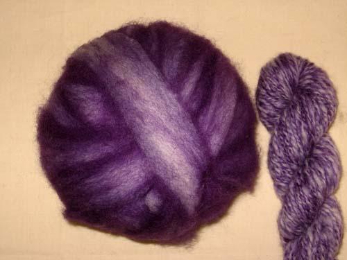 Purple Passion Romney Ball-