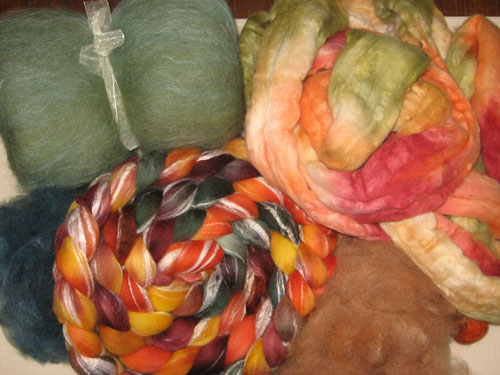 Spring Dyed Fibre Club-