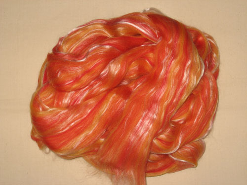 Fire and Ice Merino/Tencel Blend-
