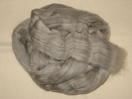 Grey Corriedale Tops-