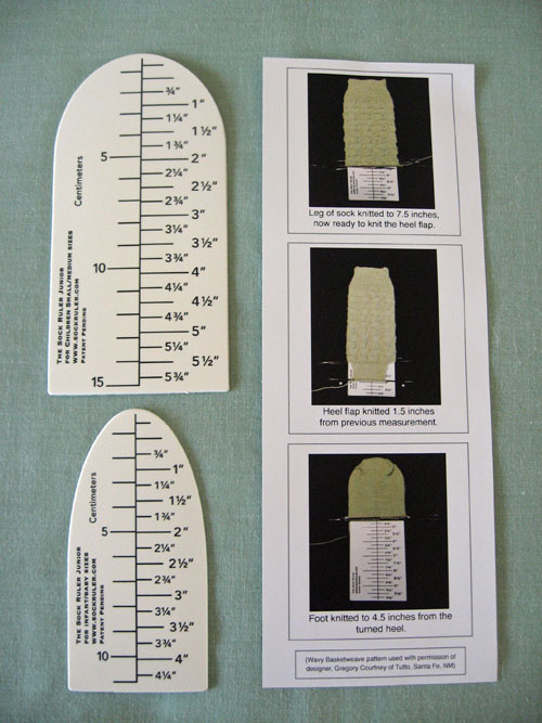 The Junior Sock Ruler Set-