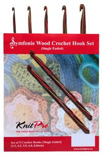 Knit Pro Symfonie Crochet Hook set-