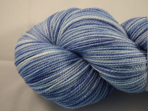 Little Boy Blue SW Merino/Nylon/Stellina sock yarn-