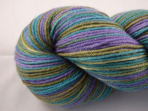 Moon Face (L) Superwash Merino/Bamboo/Silk Sock Yarn-