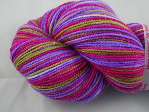 Morgana (L) SW Merino Sock Yarn/Nylon/Stellina-