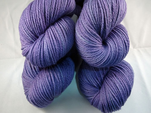 Pansy Purple 8ply Sustainable Merino-
