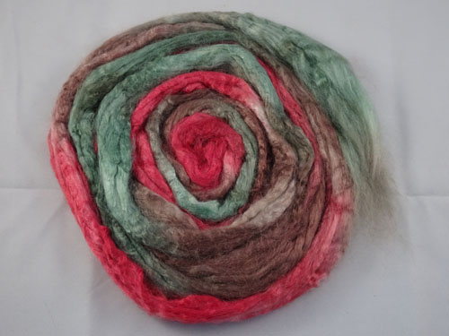 Red Flowering Gum Tussah Silk-