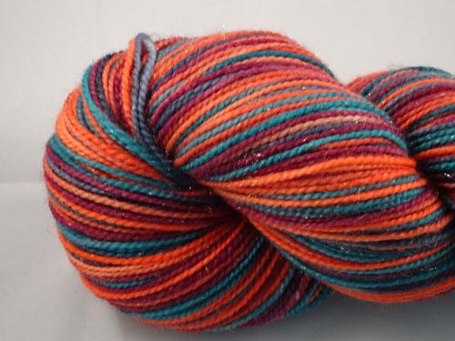Roxy SW Merino/Nylon/Stellina sock yarn-