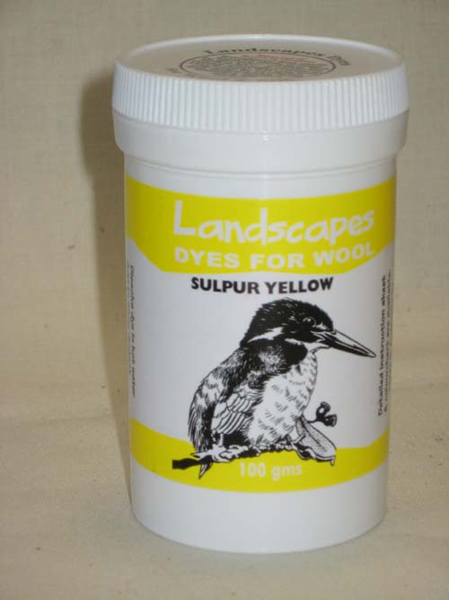 Sulphur Yellow Dye-