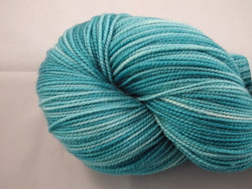 Tempting Teal SW Merino Sock Yarn-
