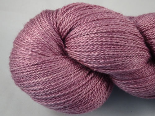 That Purple Merino/Silk Laceweight Yarn-