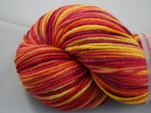 Autumn Leaves 8ply Sustainable Merino-